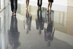 Ludzie Biznesu Chodzi Na Marmurowej podłoga Obraz Stock