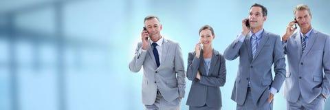 Ludzie biznesu i biuro z racy źródłem światła zdjęcia royalty free
