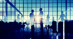 Ludzie Biznesu interakci komunikaci pojęcia Zdjęcia Stock
