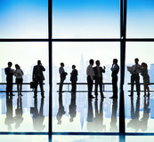 Ludzie Biznesu Komunikacyjnego Korporacyjnego biura pojęcia Fotografia Royalty Free