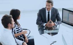 Ludzie biznesu konferenci i spotkanie w nowożytnym biurze obrazy royalty free
