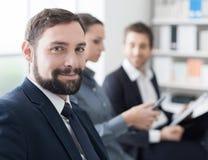 Ludzie biznesu ma spotkania obrazy royalty free