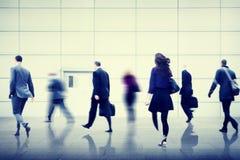 Ludzie Biznesu miasta życia krzątaniny pośpiechu zajęcia pojęcia Obraz Royalty Free