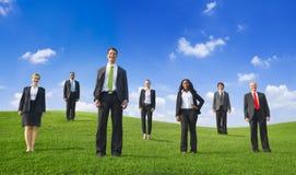 Ludzie Biznesu Na wzgórzu Obrazy Royalty Free