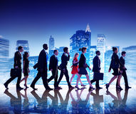 Ludzie Biznesu Nowy Jork Dojeżdżać do pracy pojęcie zdjęcie royalty free