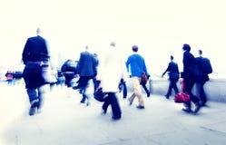 Ludzie Biznesu Nowy Jork dojeżdżającego pojęć fotografia stock