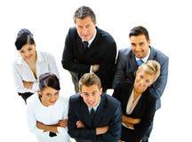ludzie biznesu odgórnych widok zdjęcie royalty free
