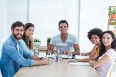 Ludzie biznesu podczas spotkania Zdjęcie Stock