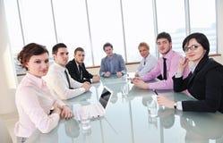 Ludzie biznesu przy spotkaniem Zdjęcia Stock