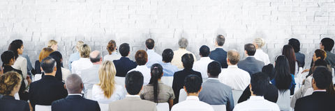 Ludzie Biznesu Seminaryjnego spotkania Konferencyjnego Korporacyjnego pojęcia zdjęcia royalty free
