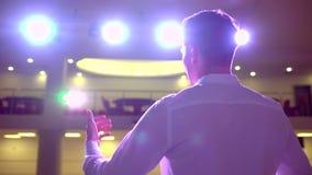 Ludzie biznesu seminaryjnego widowni spotkania szkolenia trenera biznesmena konferencyjnego męskiego głośnikowego studiowania mow zbiory