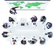 Ludzie Biznesu Spotyka Globalnego biznesu pojęcie Obrazy Stock