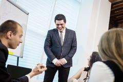 Ludzie Biznesu Spotyka Konferencyjnej dyskusi Korporacyjnego pojęcie, Zdjęcie Stock