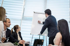 Ludzie Biznesu Spotyka Konferencyjnej dyskusi Korporacyjnego pojęcie, Obraz Royalty Free