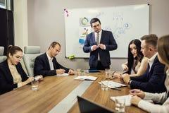 Ludzie Biznesu Spotyka Konferencyjnej dyskusi Korporacyjnego pojęcie, Obrazy Stock