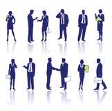 ludzie biznesu sylwetek ilustracji