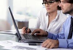 ludzie biznesu target1567_1_ dwa Obrazy Stock