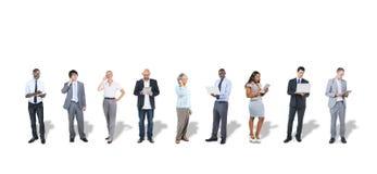 Ludzie Biznesu Używa Cyfrowych przyrząda Zdjęcia Royalty Free