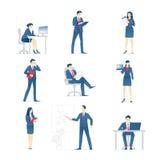 Ludzie biznesu ustawiają 01 ilustracji