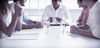 Ludzie biznesu w konferencyjnym spotkaniu Zdjęcie Stock