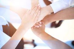 Ludzie Biznesu współpraca pracy zespołowej zjednoczenia pojęcia Zdjęcie Royalty Free