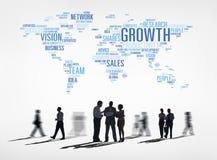 Ludzie Biznesu z Globalnego biznesu pojęciem Zdjęcia Royalty Free