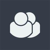 ludzie charakterów, ludzki płaski projekt, ludzie ikon Obrazy Stock