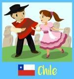 Ludzie Chile ilustracji