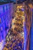 Ludzie chodzi w Sanremo zdjęcie royalty free