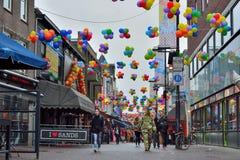 Ludzie cieszyć się carnaval Obrazy Royalty Free
