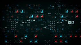 Ludzie dane czerni ilustracji