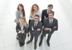 ludzie grup przedsiębiorstw Nad białym tłem Zdjęcie Stock