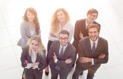 ludzie grup przedsiębiorstw Nad białym tłem Zdjęcia Stock