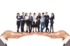 ludzie grup przedsiębiorstw Fotografia Stock