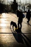 Ludzie I ulicy Cinarcik miasteczko - Turcja Zdjęcie Stock
