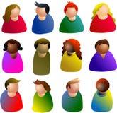 ludzie ikon Obraz Royalty Free