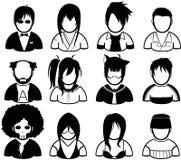 ludzie ikon Zdjęcia Stock