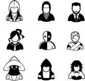 ludzie ikon Zdjęcie Stock