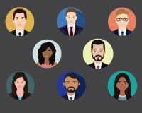Ludzie ikona koloru ilustracji