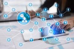 Ludzie ikony sieci SMM marketingowy medialny socjalny Obrazy Royalty Free