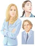 ludzie ilustracyjni Zdjęcia Royalty Free