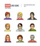 Ludzie inkasowego biznesu ilustracji