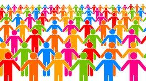 Ludzie jedność Zdjęcie Stock