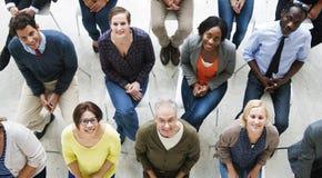 Ludzie Konferencyjnej Seminaryjnej konwenci widowni Uśmiechniętego pojęcia zdjęcie royalty free