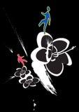 ludzie kwiatów Fotografia Royalty Free