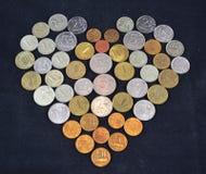 Ludzie miłość pieniądze Zdjęcia Stock