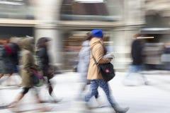 ludzie miasta chodzić Zdjęcia Stock