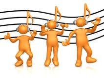 ludzie muzycznych ilustracji