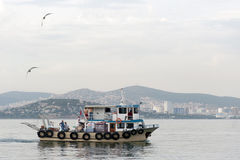 Ludzie na łodzi Fotografia Stock