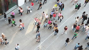 Ludzie na Istiklal ulicie w Istanbuł zdjęcie wideo